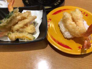 スシロー 天ぷら